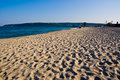 Sandy beach in Bulgaria Stock Photography