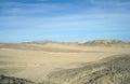 Sandy egyptian desert stone and Stock Images
