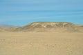 Sandy egyptian desert stone and Stock Photography