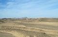 Sandy egyptian desert stone and Stock Photos