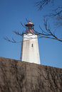 Sandy Hook Lighthouse Royalty Free Stock Photo