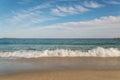 Sandy Ocean Beach Royalty Free Stock Photo