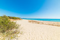 Sandy shore in Piscina Rei Royalty Free Stock Photo