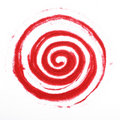 Sandy spiral Royalty Free Stock Images
