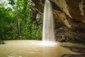 Sang chan waterfall thailand ubon ratchathani Royalty Free Stock Photo
