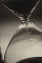 Sang hourglass closeup of retro style Stock Photo