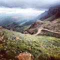 Sani Pass Royalty Free Stock Photo