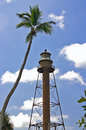 Sanibel Lighhouse Stock Photo