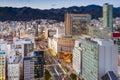 Sannomiya Cityscape Royalty Free Stock Photo
