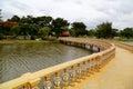 Sanphet prasat palace ancient city ancient city muang boran bangkok thailand park Stock Photo