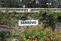 Sanremo Royalty Free Stock Photo