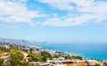 Sanremo famous town on the liguria itally panorama of mediterranean Stock Image
