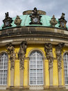 Sans Souci Palace in Potsdam Royalty Free Stock Photos