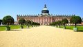 The Sanssouci palace in Potsdam, Germany. Stock Images
