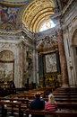 Sant'Agnese Church in Rome Royalty Free Stock Image