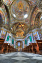 Sant Ambrogio church interior. Royalty Free Stock Image