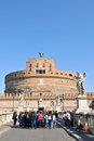 Sant Angelo castle Royalty Free Stock Photography