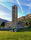 Sant Climent de Taull, Catalonia, Spain Royalty Free Stock Images