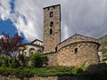 Sant Esteve church Royalty Free Stock Image