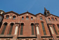 Sant Eustorgio church, Milan Royalty Free Stock Photography