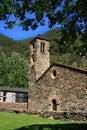 Sant Marti de la Cortinada (Ordino, Andorra) Royalty Free Stock Photo