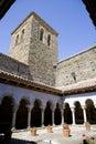 Sant pere de casserres monastery catalonia spain xi century Royalty Free Stock Photos