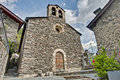 Sant Serni church at Llorts, Andorra Royalty Free Stock Photography
