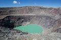 Santa ana volcano crater in el salvador lake on Stock Photography