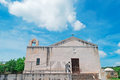 Santa anatolia church in sardinia italy Stock Photo