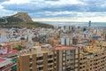 Santa Barbara Caste, Alicante, Spain Stock Images