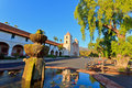 Santa Barbara mission Royalty Free Stock Images