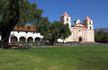 Santa Barbara Mission, California Stock Photos