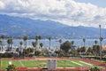 Santa Barbara Sports Field Royalty Free Stock Photo