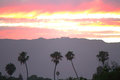 Santa Barbara Sunset Royalty Free Stock Photo