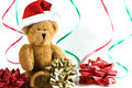Santa bear. Stock Image