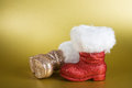 Santa Boots Royalty Free Stock Photos