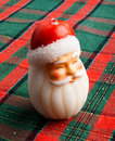 Santa Candle Royalty Free Stock Photos