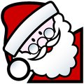 Santa cartoon Royalty Free Stock Photo