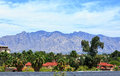 Santa Catalina Mountains Royalty Free Stock Photo