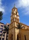 Santa cecília church traditional catholic in são paulo Royalty Free Stock Images