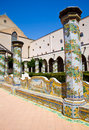 Santa Chiara Monastery - Naples Royalty Free Stock Photography