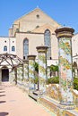 Santa Chiara Monastery - Naples Stock Photography