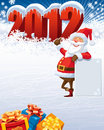 Santa Claus 2012 Stock Images
