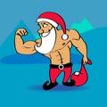 Santa Claus Bodybuilder