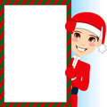 Santa Claus Boy Stock Image