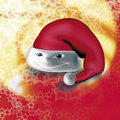 Santa Claus cap Royalty Free Stock Photography