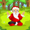 Santa claus cartoon character vector eps Royalty Free Stock Image