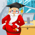 Santa claus cartoon character vector eps Stock Images