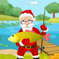 Santa claus cartoon character vector eps Stock Photo