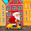 Santa claus cartoon character vector eps Royalty Free Stock Photography